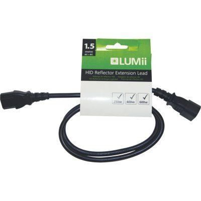 1.5mtr LUMii HID Extension lead